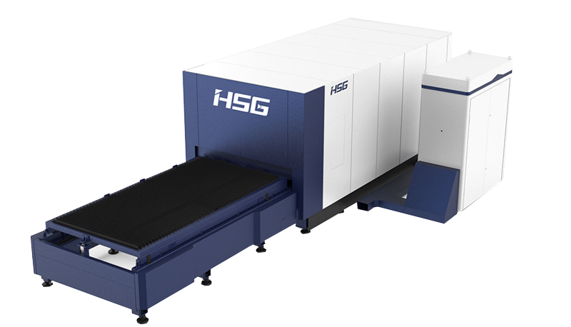 Sheet and Tube Laser Cutting Machine with Exchangeable Table GX Series
